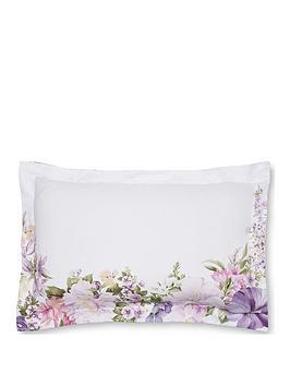 DORMA Dorma Botanical Border 100% Cotton Sateen Oxford Pillowcase Picture