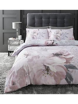 Catherine Lansfield Catherine Lansfield Dramatic Floral Duvet Cover Set Picture