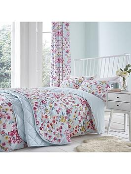 Catherine Lansfield Catherine Lansfield Flower Patchwork Duvet Cover Set Picture
