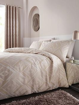 Catherine Lansfield Catherine Lansfield Myles Jacquard Duvet Cover Set Picture