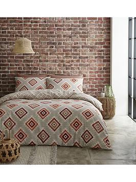 Catherine Lansfield Catherine Lansfield Aztec Duvet Cover Set Picture