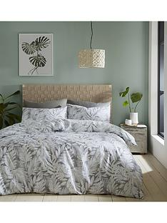 catherine-lansfield-montego-leaf-duvet-cover-set