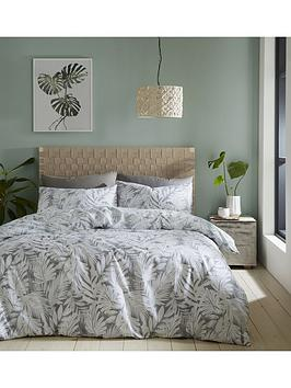 Catherine Lansfield Catherine Lansfield Montego Leaf Duvet Cover Set Picture