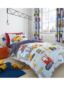 Catherine Lansfield Catherine Lansfield Construction Single Duvet Cover Set Picture