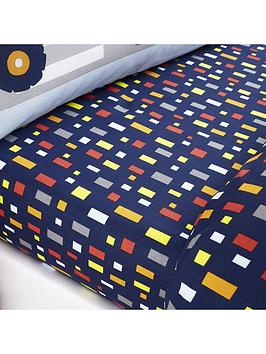 Catherine Lansfield Catherine Lansfield Construction Single Fitted Sheet Picture