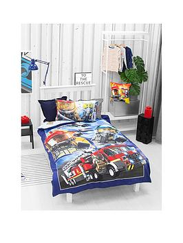Lego Lego City Adventures Town Single Duvet Cover And Pillowcase Set Picture
