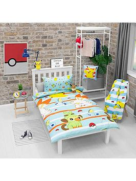 Pokemon Pokemon Jump 91 Single Duvet Cover Set Picture