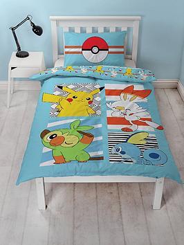Product photograph showing Pokemon Jump Duvet Set - Sb