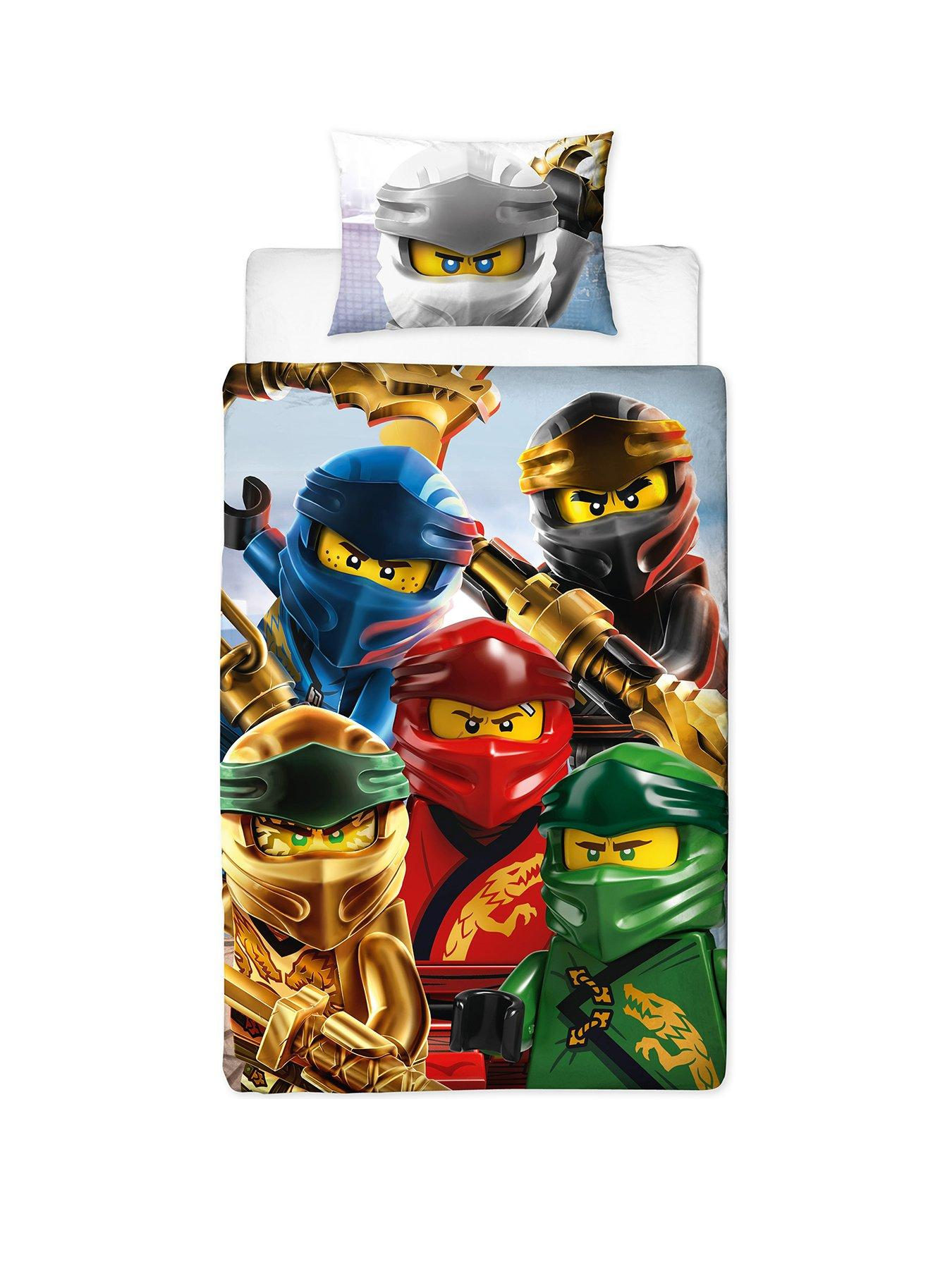 Lego Ninjago Lightning Double Duvet
