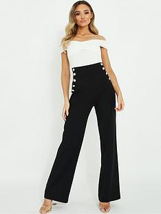 quiz-quiz-high-waist-button-detail-palazzo-jumpsuit
