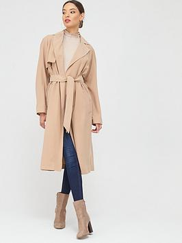 Oasis Oasis Wrap Duster Coat - Neutral Picture