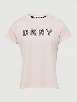 DKNY SPORT Dkny Sport Track Logo T-Shirt - Peach Picture