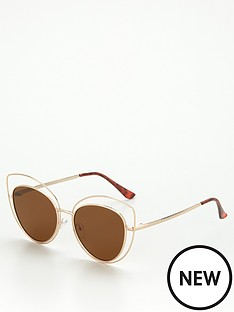 v-by-very-cut-out-metal-rim-cat-eye-sunglasses-goldnbsp