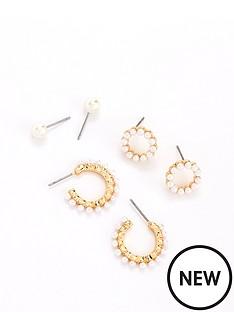v-by-very-pearl-multi-earring-pack