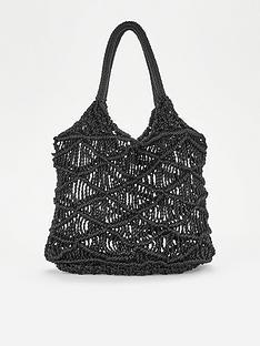 v-by-very-crochet-tote-bag-black