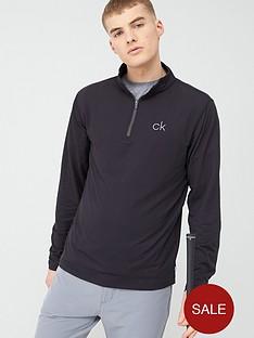 calvin-klein-golf-newport-half-zip-black