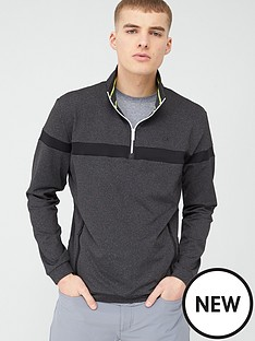 calvin-klein-golf-chest-stripe-frac12-zip-top-ndash-grey-marl