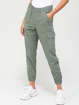 v-by-very-cargo-pocket-jogger-trousers-khaki