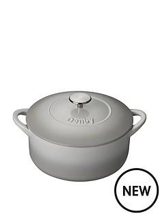 denby-denby-natural-canvas-26cm-cast-iron-casserole-dish