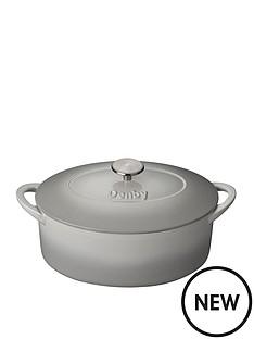 denby-denby-natural-canvas-28cm-oval-cast-iron-casserole-dish