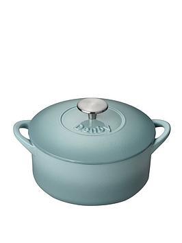 Denby   Pavilion 20 Cm Cast Iron Casserole Dish