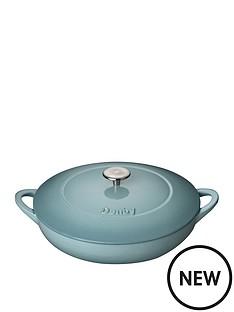 denby-denby-pavilion-30cm-shallow-cast-iron-casserole-dish