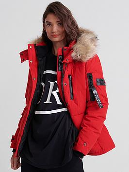Superdry Superdry Premium Down Rescue Jacket - Red Picture