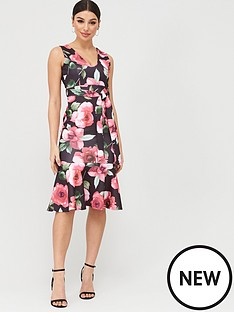 boohoo-boohoo-floral-drop-hem-midi-dress-black-floral