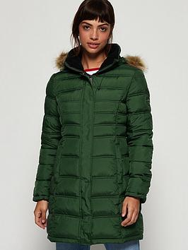 Superdry Superdry Mountain Super Fuji Jacket - Green Picture