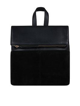 Accessorize Accessorize Mini Lydia Leather Backpack - Black Picture
