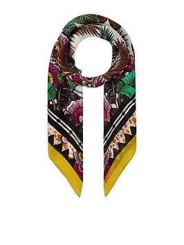 Accessorize   Balinese Silk Square - Multi