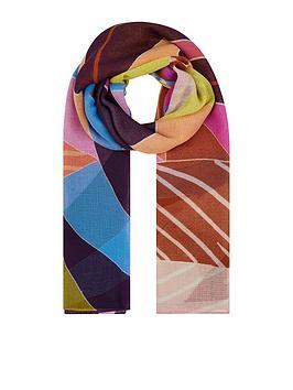 Accessorize Accessorize Summer Floral Print Scarf - Multi Picture