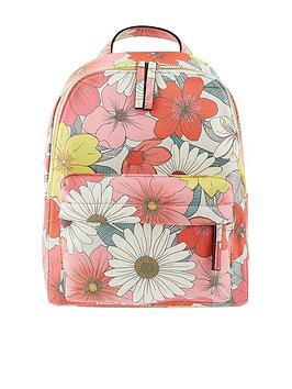 Accessorize   Floral Printed Backpack - Multi
