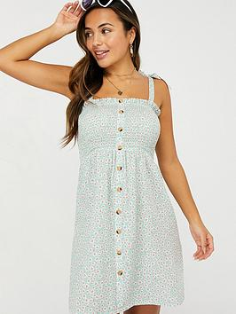 accessorize-daisy-print-button-through-dress-aquanbsp