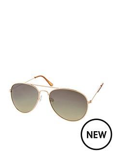 accessorize-chantal-aviator-sunglasses-gold
