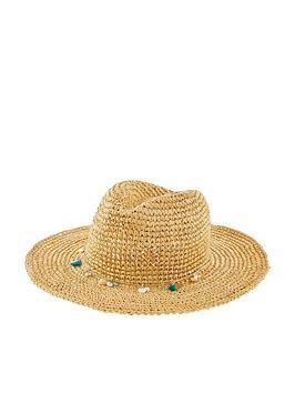 Accessorize Accessorize Stetson Hat - Natural Picture