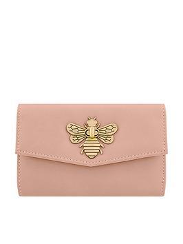 Accessorize Britney Bee Wallet - Pink