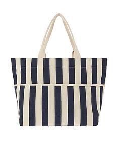 accessorize-woven-stripe-tote-bag-navy