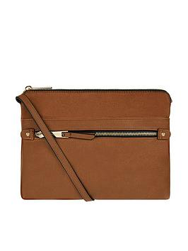 Accessorize   Elly Entry Cross Body Bag - Tan