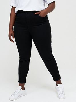 V by Very Curve V By Very Curve Shaping Jean - Black Picture