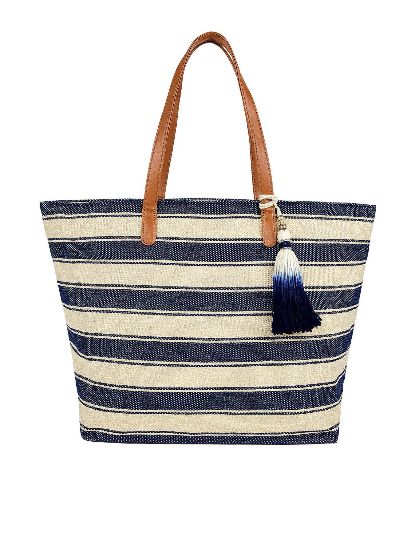 Nike Women/'s Graphic Reversible Tote Bag Ladies Shoulder Bag 2 in 1 Beach Bag