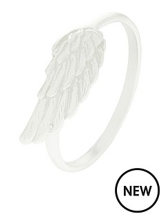 accessorize-angel-wing-ring-silver