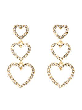 accessorize-triple-heart-pave-drop-earring-crystal