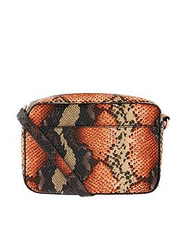 Accessorize Accessorize Snake Camera Cross Body - Multi Picture