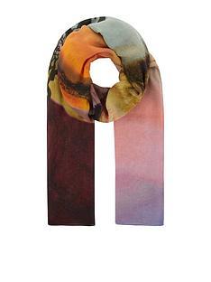 accessorize-savannah-landscape-print-scarf-multi