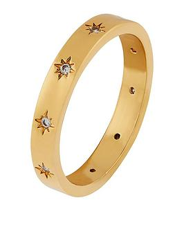 Accessorize Accessorize Z Sparkle Star Set Band Ring Picture