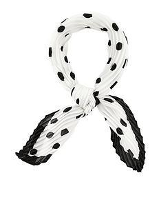 accessorize-mono-spot-crinkle-square-scarf-multi