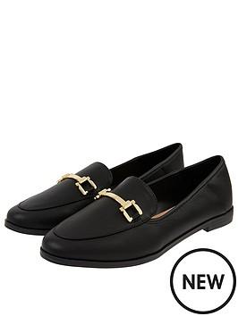 accessorize-metal-detail-loafer-s-black