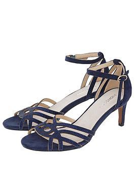 Monsoon Monsoon Hatty Heat Seal Occasion Sandal - Navy Picture