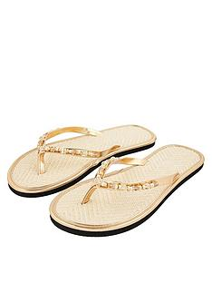 accessorize-beaded-seagrass-flip-flops-gold
